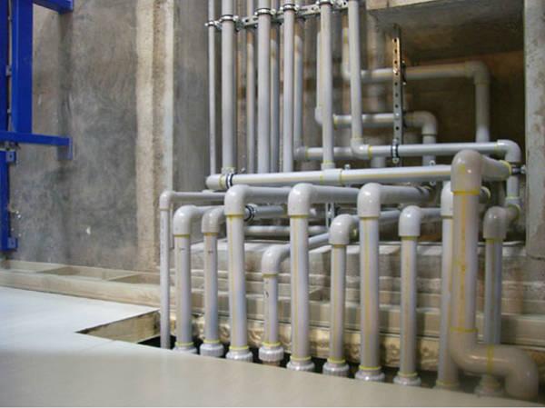 Фото Трубы и фитинги ХПВХ Corzan® для промышленных систем