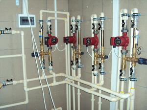 Пластиковые трубы для отопления ХПВХ «АДЕЛАНТ»