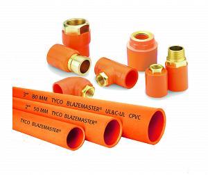 Пластиковые трубы для пожаротушения BlazeMaster® ХПВХ
