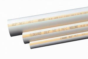 Пластиковые трубы для водопровода ХПВХ «Аделант»
