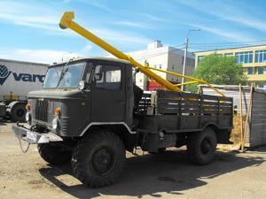 Продаём Ямобур на базе ГАЗ-66 БМ-302Б