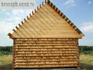 Срубы домов из окоренного бревна быстро, качественно, недоро