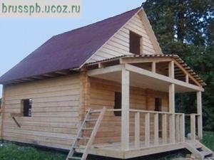 Дома из бруса быстро, качественно, недорого