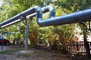 Комплектация тепловых сетей в ППУ изоляции