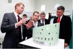 Президент России посетил здание будущего