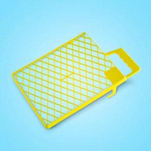 Sto-Abstreifgitter Kunststoff gelb 27 x 29 см
