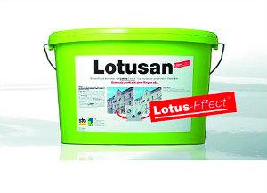 Самоочищающаяся фасадная краска StoLotusan Color (Лотусан) 12,5 л