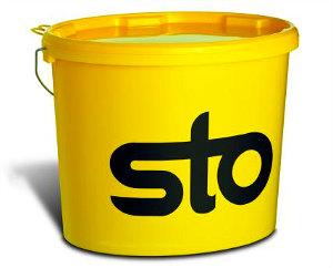 Фасадная краска для пористого бетона StoPoro Fill 25 кг