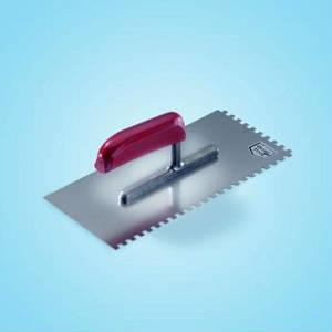 Зубчатая кельма Sto-Glattekelle gezahnt 280 x 130 мм, 6 х 6
