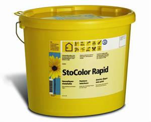 Высокоукрывистая матовая краска для стен и потолков StoColor Rapid