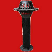 Воронка чугунная водосточная кровельная ВУ-100