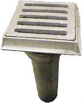 Воронка водосточная с решеткой для мостов