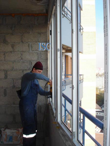 """Фото Остекление и отделка балконов (лоджий) """"под ключ"""""""