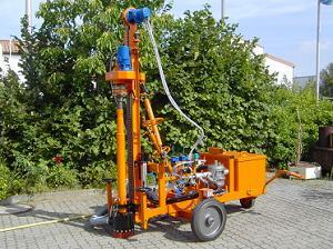 Пневматическая самоходная бурильная установка Gayk GBW5