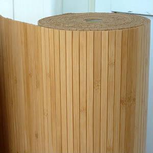 Обои бамбуковые лакированные