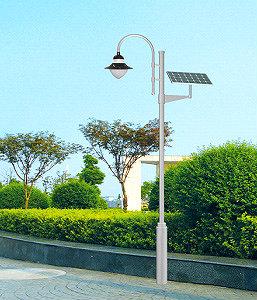 Солнечная система садово-паркового освещения