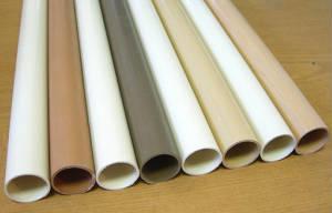 Трубы гладкие жесткие из ПВХ для монолитного строительства, фиксаторы