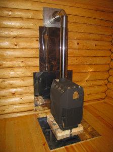 как сделать дымоход в доме от газового котла
