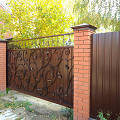 Фото 1: Откатные ворота