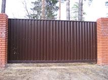 Откатные ворота всего за 30000 рублей