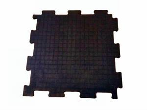 Вулканизированная резиновая плитка Резиплит - ЧИП -14 мм
