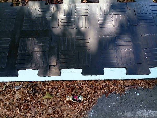 Фото Универсальное резиновое покрытие из плиток «Резиплит – Паркет»