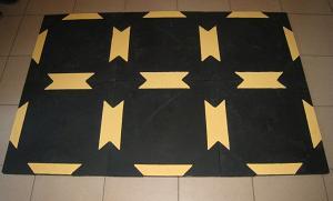 Резиновое напольное покрытие для поглощения шума