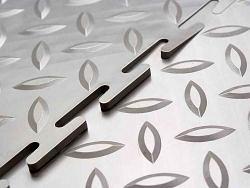 """Пластиковое напольное покрытие для Автосервиса ПВХ """"СОЛД - Зерно - 7 мм"""""""