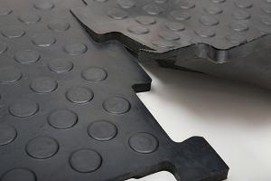 Вулканизированная резиновая плитка «РЕЗИПЛИТ-20»