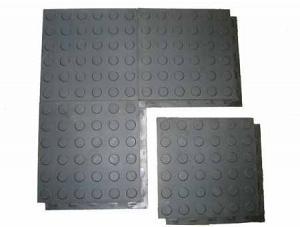 Плиты из вулканизированной резины для пола в гараже «РЕЗИПЛИТ-Монета»