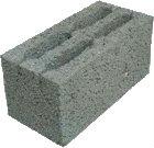Керамзитобетонные блоки пустотелые, 390х190х188