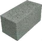 Керамзитобетонные блоки полнотелые, 390х190х188