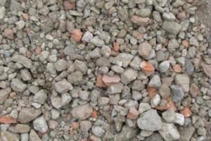 Вторичный щебень бетонный фр. 5-20