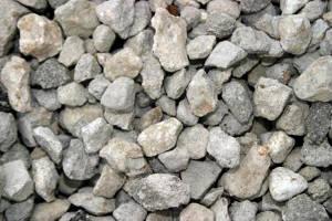 Вторичный щебень бетонный фр. 20-40