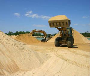 Песок карьерный, сеяный
