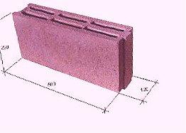 Перегородочный керамзитобетонный блок 12*22*50