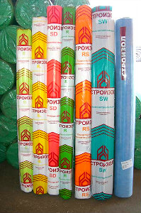 Монтажные бутилкаучуковые ленты Строизол LK