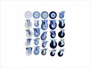 Колеса для тележек и контейнеров, ролики, поворотные, промышленные, большегрузные