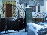 Ворота кованые в стиле модерн!