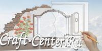 Craft-Center.Ru - Межкомнатные арки фото, арки в квартире москва, арочный проем ремонт арок, арки из гипсокартона и витражи деревянные.