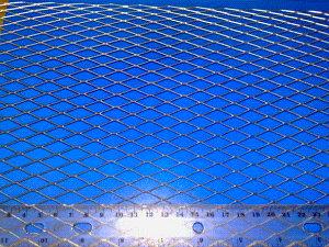 Цельнометаллическая просечно-вытяжная сетка ЦПВС 1250*25*0,5*0,7