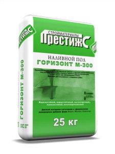 """Наливной пол """"Горизонт М-300"""""""