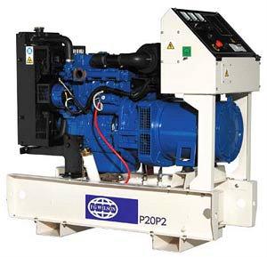 Дизельные электростанции FG Wilson мощностью 6,8 – 22 кВА