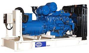 Дизельные электростанции FG Wilson мощностью 550 – 2200 кВА