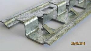 Профиль для клинкера ПРК 8-10мм 3000мм 1мм оцинк