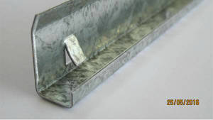 Профиль для клинкера ПСК 8-10мм 3000мм 1мм оцинк