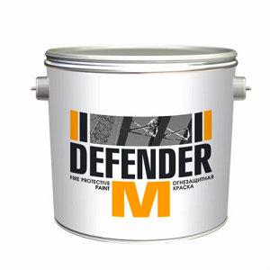 Краска огнезащитная ДЕФЕНДЕР М для металлоконструкций на водной основе