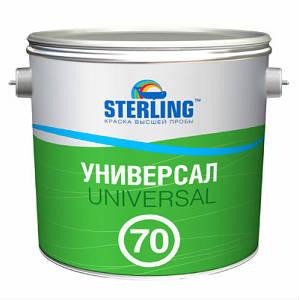 Краска УНИВЕРСАЛ 70 ПФ-116 база А антикоррозионная тм Стерлинг