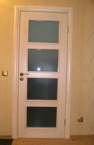 Фото Двери из массива сосны