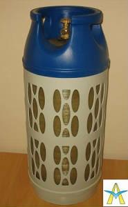 Газовый баллон бытовой взрывобезопасный Ragasco 33.5 литра